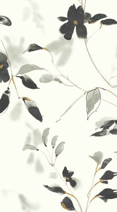 Flower Background Wallpaper, Flower Backgrounds, Of Wallpaper, Peel And Stick Wallpaper, Wallpaper Backgrounds, Iphone Wallpaper, Watercolor Print, Watercolor Flowers, Image Deco