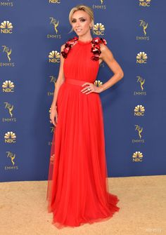 Giuliana Rancic - Every Stunning Dress On The 2018 Emmy Awards Red Carpet -  Photos f7265ebb6