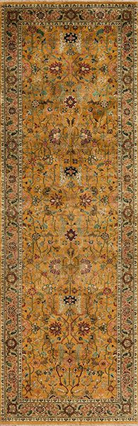 Runners 154417 Golden Age Collection Brilliance Samad Hand Made Carpets