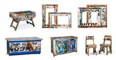 Mobiliario reciclado de Artlantique Jenny Humphreys: I call this Shabby chic Africa style :-))