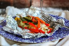 Foil-Baked Fish with Summer Veggies Recipe on Yummly. @yummly #recipe
