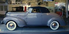 1939 Plymouth P8 Deluxe Convertible