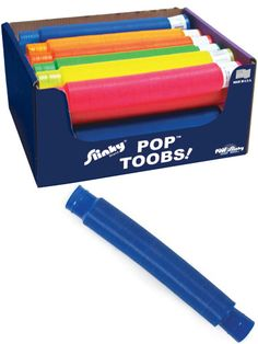 Bend, stretch, and listen to it pop - Slinky Pop Too | $1.95