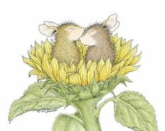 """""""Mudpie and Amanda"""" from House-Mouse Designs®"""