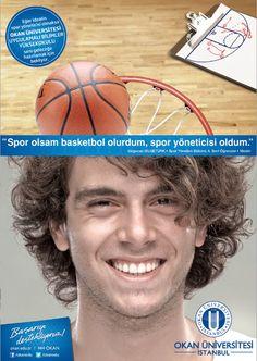"""Okan Üniversitesi - Başarıyı destekliyoruz!  """"Spor olsam basketbol olurdum, spor yöneticisi oldum."""""""