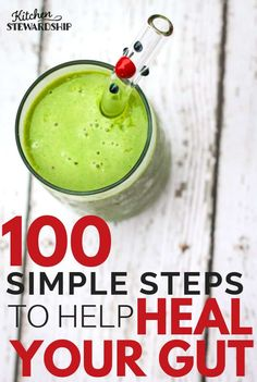 No More Leaky Gut! 100 steps to take today to heal your gut – you can make little changes to prepare for a major detox or cleanse or gut healing protocol! Detox Diet Drinks, Natural Detox Drinks, Detox Diet Plan, Fat Burning Detox Drinks, Full Body Detox, Body Detox Cleanse, Health Cleanse, Stomach Cleanse, Gut Health