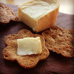 The Brooklyn Brew Shop team has created a tasty recipe for cheddar crackers using dried spent grain left over from brewing.