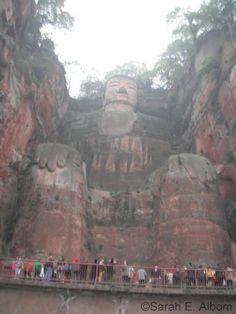 S-Giant Buddha, chengdu by coastalrhonda, via Flickr