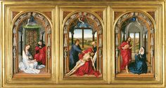 Triptych of Our Fair Lady, so called Miraflores Altarpiece, Gemäldegalerie, Berlin