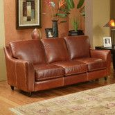 Found it at Wayfair - Great Texas Leather Sofa