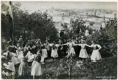 Budapest - Március 15-i ünnepség a Gellért-hegyen 1915-1925 között. - Hungary