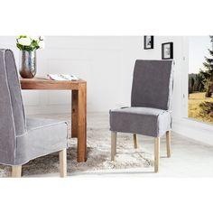 Moderne stoel Heaven grijs stone washed - 35971