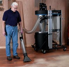 Woodworking Tool News - Delta Portable Cyclone Dust Collector - Woodworking Tools - American Woodworker