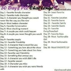 30 day pll challenge!!! ima do this! | pretty little liars