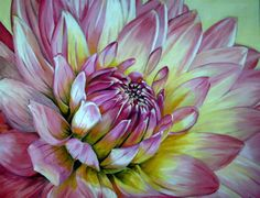 gorgeous floral painting