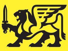Winged Lion logo Mike Harpin