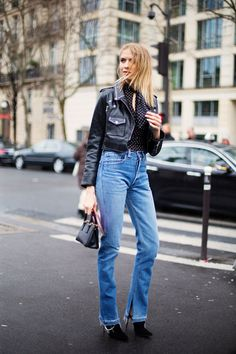 Fall 2016 Paris Fashion Week Street Style - March 2016