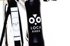 Handpainted fixie Bike on Wax by Loca Bikes (www.locabikes.com) #locabikes #handmadebike #custombike #fixedgear #singlespeed #fixie #bikeart #bikefashion #bikedesign #customfixie