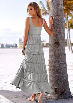 Vestido de malha pink-escuro encomendar agora na loja on-line bonprix.de  R$ 99,90 a partir de O must da estação - vestido longo! A peça com comprimento até ...