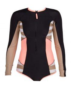 Body Glove Distraction Paddle Suite One Piece Swimsuit #SundanceBeach and #DestinationBikini