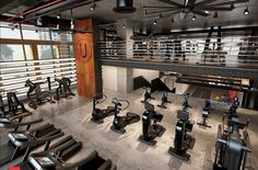 49 Ideas Fitness Gym Interior Ceilings For 2019 Fitness Design, Gym Design, Design Garage, Garage Gym, Motivation Poster, Gym Club, Fitness Gym, Fitness Equipment, Gym Interior
