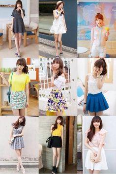 Korean Girls Fashion. How adorable!!