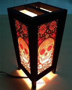 Table Lantern Lamp or Bedside Floor Japanese Style Wood frames & Mulberry paper Lamp Shades, Furniture For Home decorate #Lantern NT02