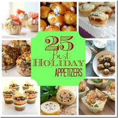 25 finger foods for the holidays