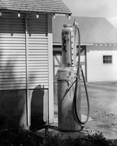 Vintage #Gas #Pump  Black and White Print Digital by LEXIBAGS,