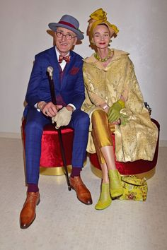 Mature Fashion, Timeless Fashion, Grandma Clothes, Bohemian Style Men, Mode Alternative, Classy People, Advanced Style, Couple Outfits, All About Fashion