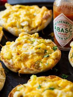 These Crab Melts are wonderful when you want a little something different for brunch or a snack!