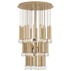 Robert Abbey Jonathan Adler Milano Polished Brass Six Light Chandelier 799 Round Chandelier, Modern Chandelier, Brass Chandelier, Brass Lighting, Beautiful Bedroom Decor, Jonathan Adler Lighting, Chandelier, Ceiling Lights, Robert Abbey Lighting