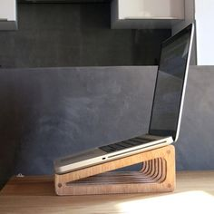 Torn13 laptop stand for macbook pro 13 by Mimaworks on Etsy