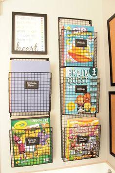 Dicas e inspirações para organizar os livros das crianças | Catraquinha