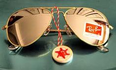 Ray Ban Aviator Gold Mirror - doesn't get any better than this.
