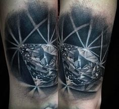 The Greeks believed that diamonds were symbols of money, high quality lifestyles, purity, and increased strength. Just as many traditions have endured through the years, diamond tattoos are among them. The reasons men get them…