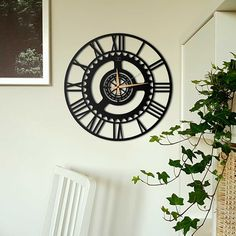 Deccort | Time New Metal Duvar Saati Clock, Wall, Home Decor, Watch, Homemade Home Decor, Clocks, Interior Design, Home Interiors, Decoration Home
