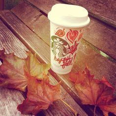 Starbucks Happy Fall