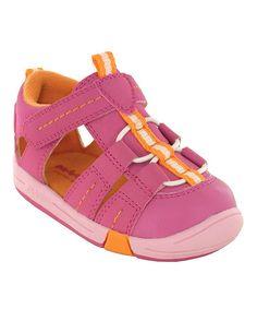Look at this #zulilyfind! Hot Pink Beach Baby Sandal #zulilyfinds