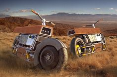Gorgeous diesel motorbike concept.