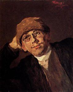 Max Slevogt - Selbstbildnis (1891)