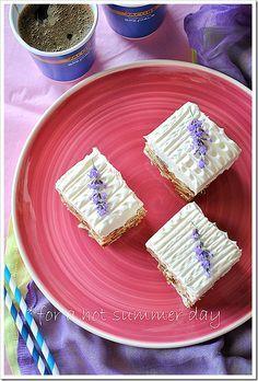 Τούρτα ονείρου Delicious Desserts, Dessert Recipes, Greek Recipes, Let Them Eat Cake, Cooking Time, Waffles, Caramel, Deserts, Food And Drink