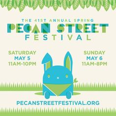 Free-admission festival on Pecan Street. Located downtown (2min walk from Hilton Austin). Festival is May 5 & 6th. I would go on the 6th  (Sunday) after any GO Wild events have ended.
