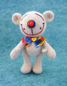 Crochet Pattern   Amigurumi Bear Doll by BluebearyTreasures