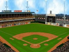 Connie Mack Stadium, where I first rooted for the Phillies ^ Phillies Baseball, Baseball Park, Sports Baseball, Baseball Field, Baseball Stuff, Cardinals Baseball, Sport Football, Baseball Painting, Sports Stadium