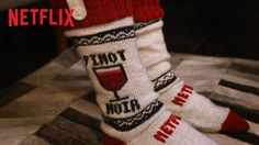 Pin for Later: These Netflix Socks Can Pause Your Show When You Fall Asleep . . . Seriously The Video That Explains It All