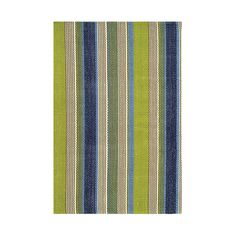 Found it at AllModern - Pueblo Woven Marina Stripe Indoor/Outdoor Area Rug
