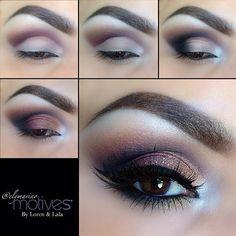 Eye-makeup tutorial