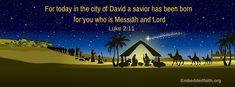luke 2:11 christmas facebook cover embeddedfaith.org