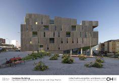 Inakasa Building by López Acosta and Díaz Martín Commercial Architecture, Architecture Office, Social Housing, Canario, Planet Earth, Willis Tower, Screen Shot, Geography, Facade